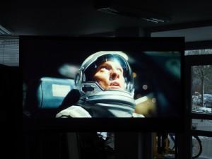 Interstellar auf CouchScreen Leinwand