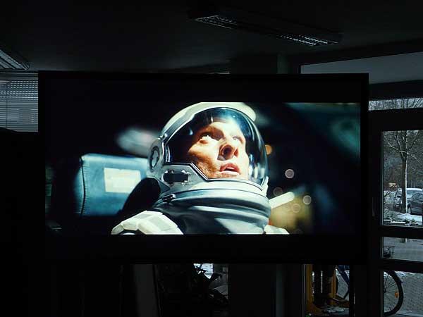 Interstellar auf CouchScreen Leinwand Bild 4