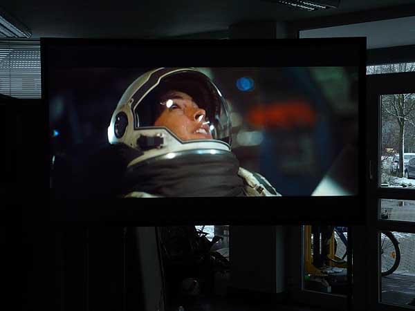 Interstellar auf CouchScreen Leinwand Bild 5