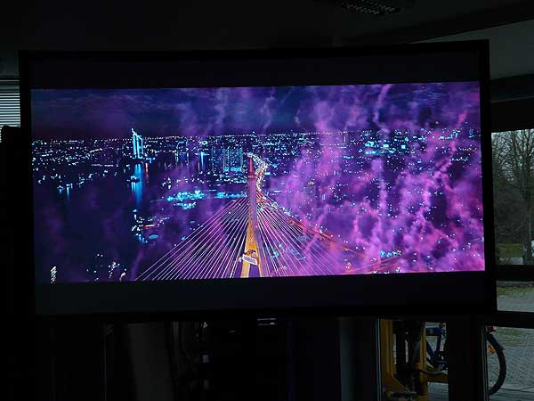 Sony Celebrate every detail on CouchScreen Leinwand Bild 9